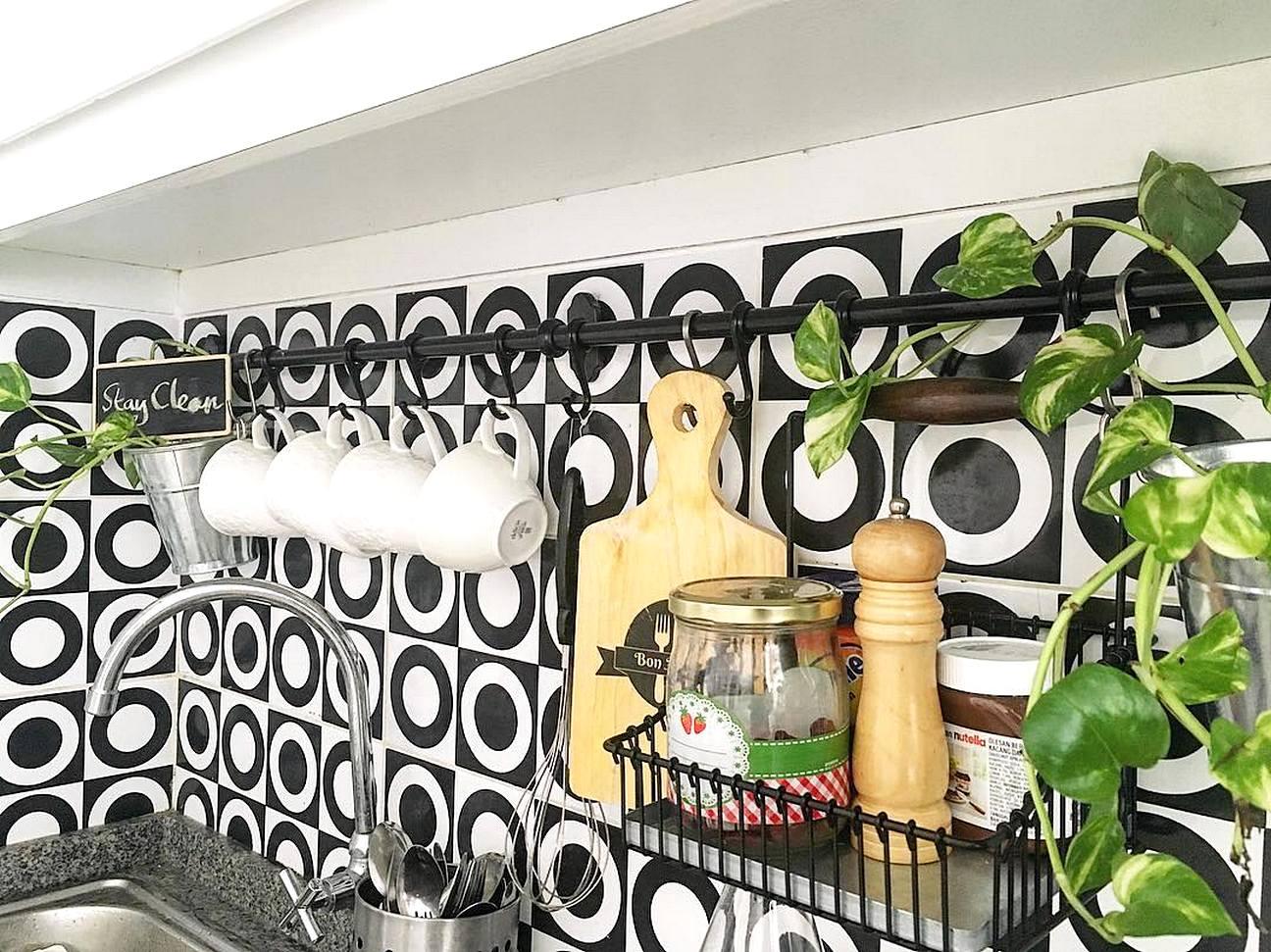 31 model keramik dinding dapur minimalis terbaru 2017