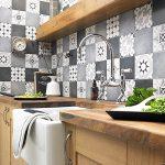 Model Motif Keramik Dinding Dapur