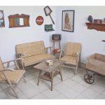 Model Ruang Tamu Vintage