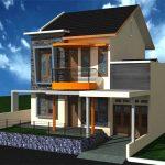 Model Rumah Minimalis 2 Lantai Sederhana Populer