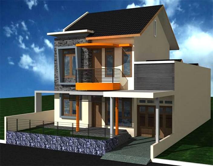 36 Desain Rumah Minimalis 2 Lantai Sederhana 2019