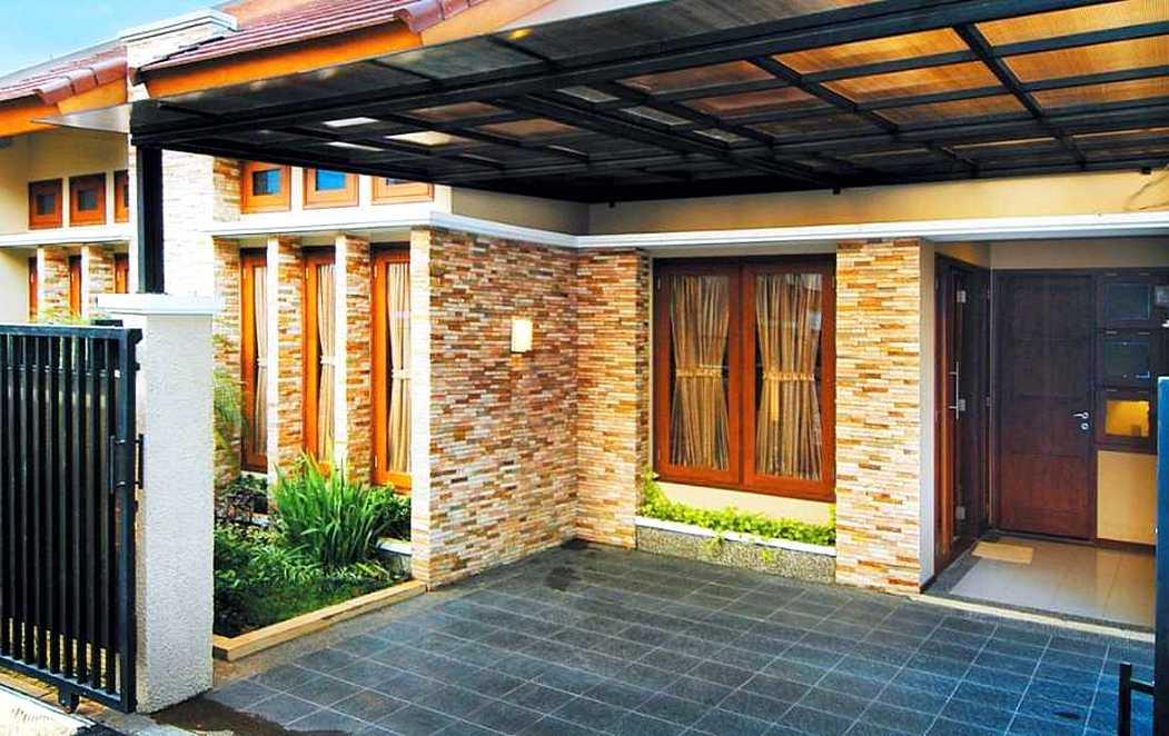 rumah model batu alam