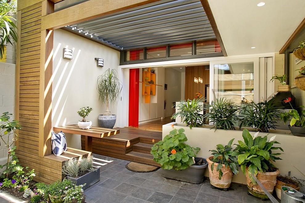 Model Teras Rumah Minimalis Modern 2019