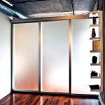 Partisi Penyekat Ruangan Minimalis Modern Kaca