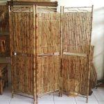 Partisi Ruangan Dari Bambu