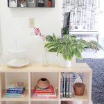 Rak Buku Dinding Ruang Tamu