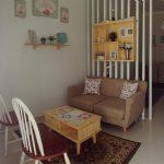 Ruang Tamu Kecil Bergaya Klasik Vintage