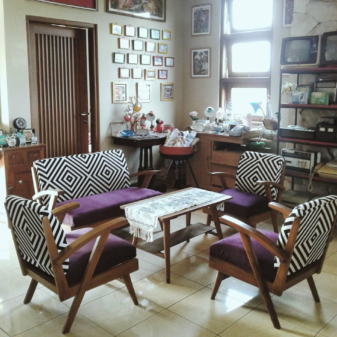 Ruang Tamu Minimalis Bera Klasik Vintage