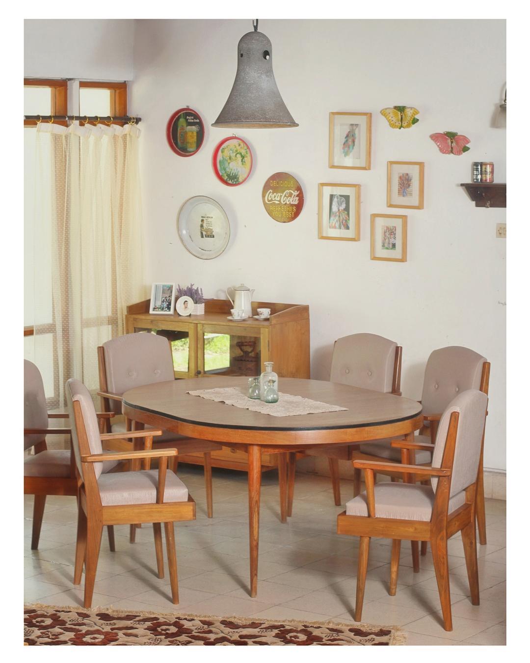 Desain Ruang Tamu Bergaya Vintage Kumpulan Desain Rumah