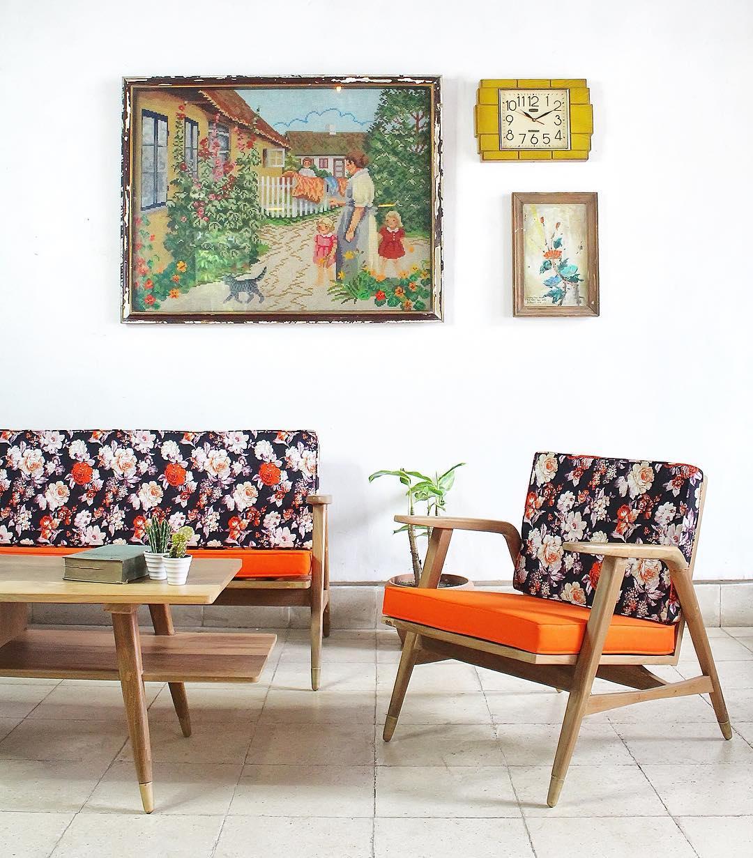 27 Desain Ruang Tamu Minimalis Bergaya Klasik Vintage Terbaru 2017