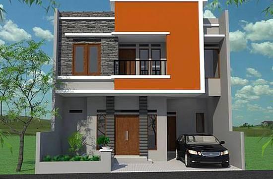 36 desain rumah minimalis 2 lantai sederhana 2017 dekor