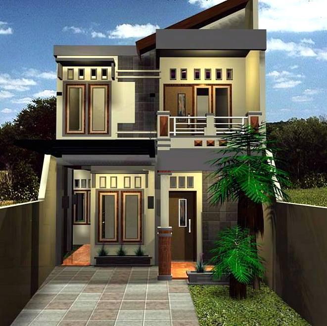 Renovasi Tampak Depan Rumah Minimalis  model rumah minimalis 2 lantai tampak depan model rumah