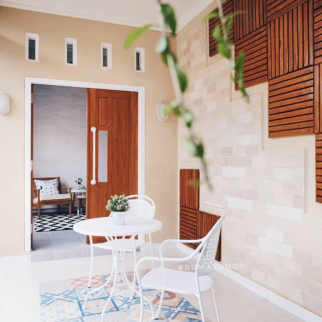 Teras Rumah Minimalis Dengan Ornamen Dan Motif Keramik Teras Rumah Yang Cantik