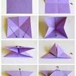 Tutorial Lengkap Membuat Hiasan Dinding Kamar Buatan Sendiri Dari Kertas Origami Berbentuk Kupu Kupu Cantik Warna Warni