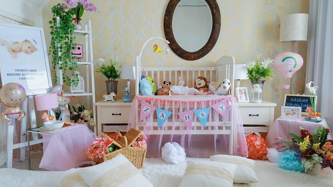 27 desain dan dekorasi kamar bayi balita minimalis terbaru for Dekor kamar hotel ulang tahun