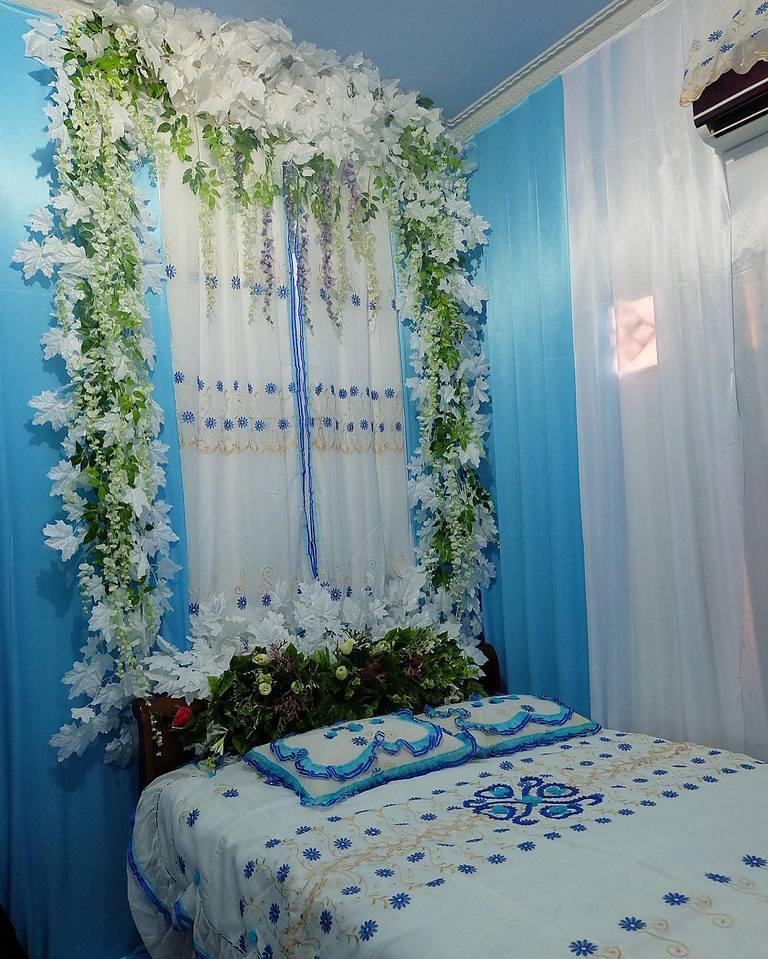 37 Dekorasi Kamar Pengantin Sederhana Yang Romantis 2020