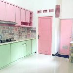 Dapur Minimalis Dengan Kitchen Set
