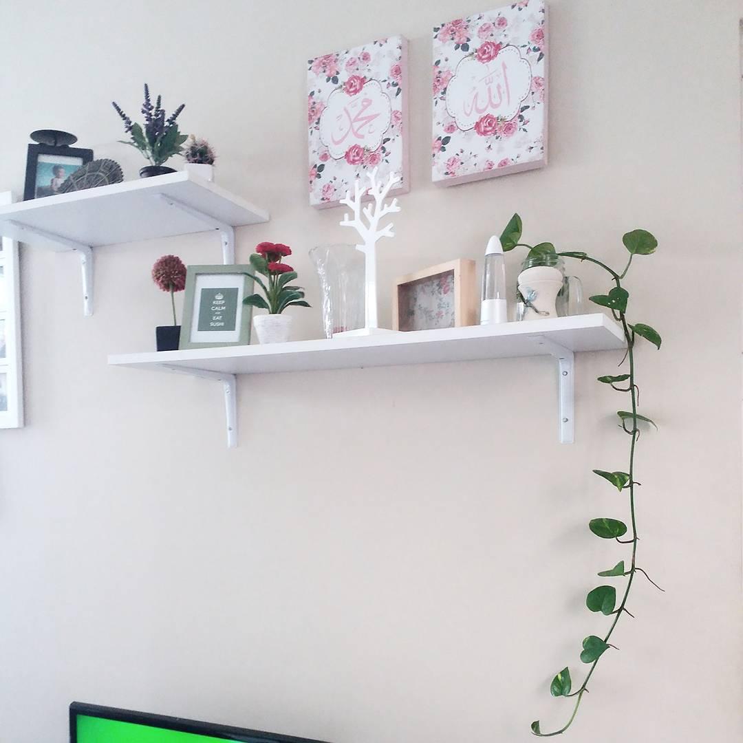 Dekorasi Ruang Keluarga Dengan Hiasan Dinding I
