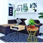 Dekorasi Ruang Tamu Desain Ruang Tamu Kecil Dengan Menambahkan Rak Dinding