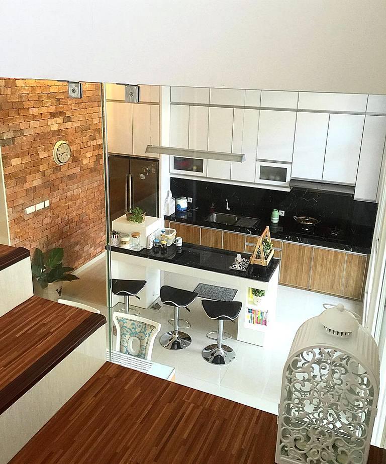 Desain Dapur Minimalis Desain Dapur Sederhana Desain Dapur Modern Dengan Kitchen Set