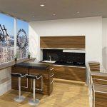 Desain Dapur Minimalis Modern Dengan Tempat Makan