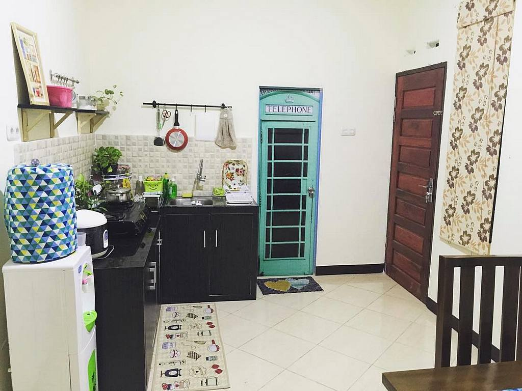 Cara hias dapur tanpa kabinet for Model kitchen set sederhana