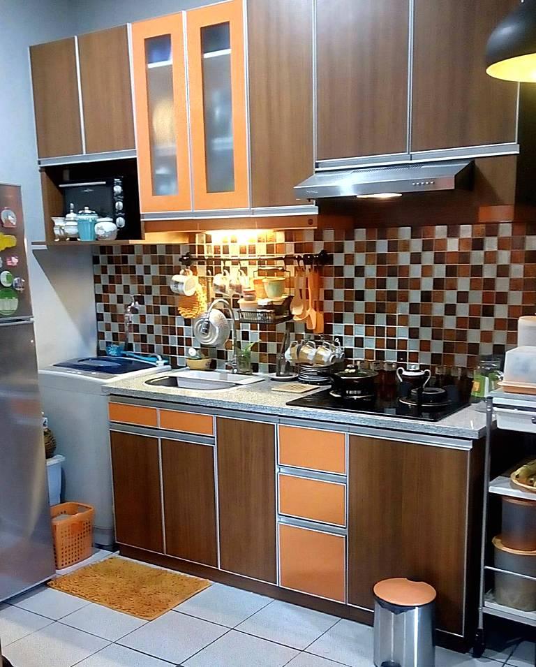 Kitchen Set Ukuran 1 Meter: 35 Desain Dapur Minimalis Sederhana Dan Modern Terbaru
