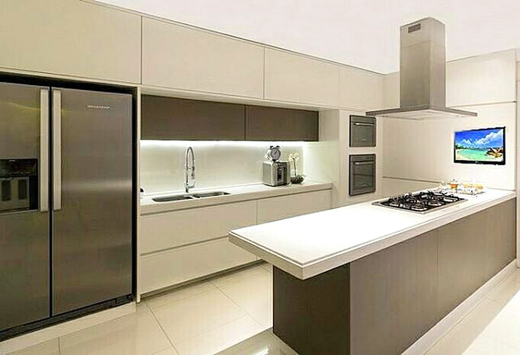 Dapur Moden 2019 Desainrumahid com
