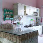 Desain Dapur Shabby Chic Dengan Kithcen Set