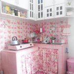 Desain Dapur Shabby Chic Ukuran Kecil Minimalis