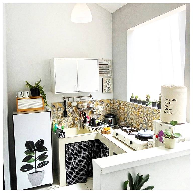 Desain Dapur Minimalis Sederhana Dan Modern Terbaru 2018