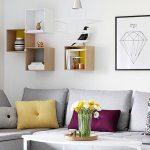 Desain Interior Ruang Tamu Minimalis Dengan Rak Buatan Sendiri