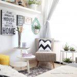 Desain Interior Ruang Tamu Minimalis Ruang Tamu Kecil Dengan Hiasan Bantal Lucu