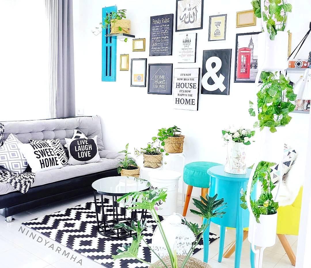 33 Desain Dan Dekorasi Ruang Tamu Sederhana Minimalis Total Update