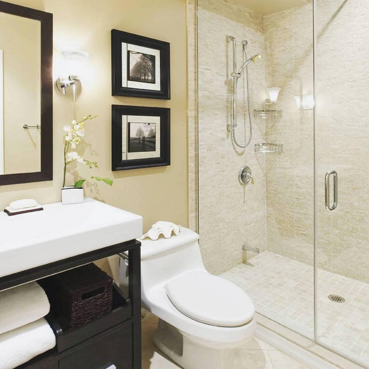29 model kamar mandi sederhana minimalis terbaru 2018 for Dekor kamar hotel