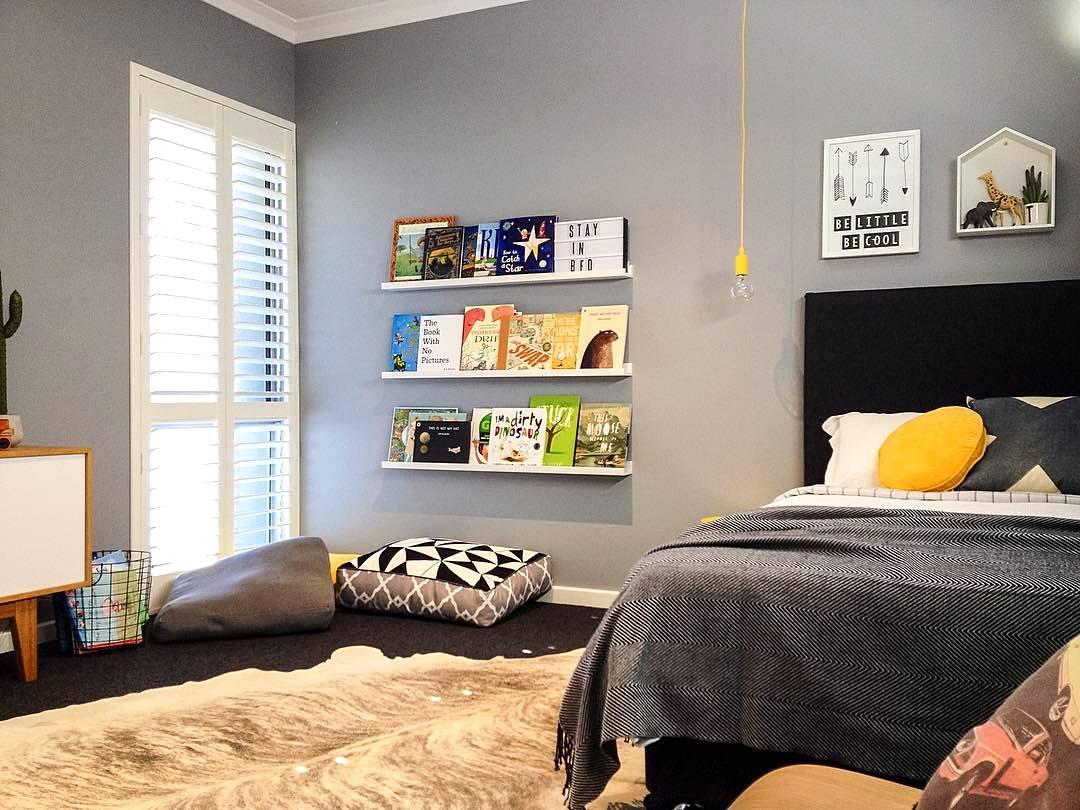 foto desain kamar tidur cowok minimalis | gambar desain rumah minimalis