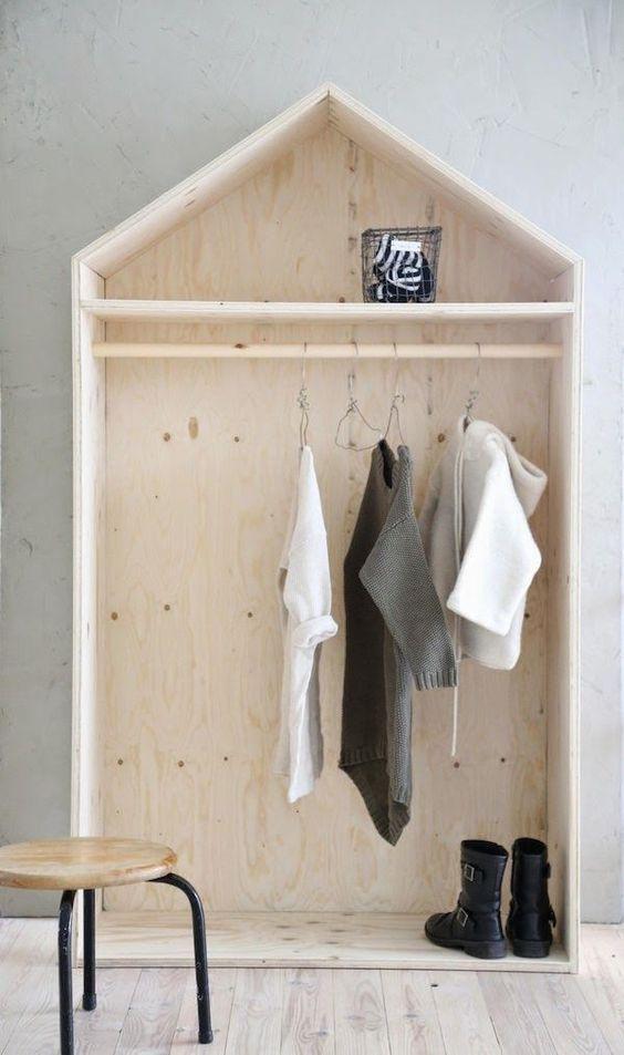 18 desain lemari pakaian minimalis terbaru 2017 dekor rumah - Jongens kamer model ...