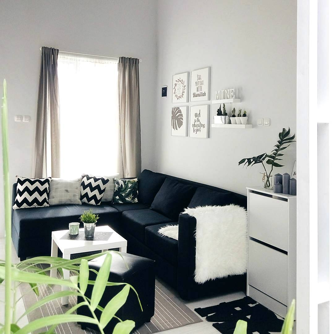 33 Desain Dan Dekorasi Ruang Tamu Sederhana Minimalis Terbaru 2019