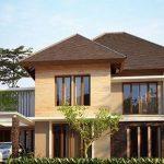 Desain Rumah Besar Dan Mewah Bergaya Rumah Minimalis