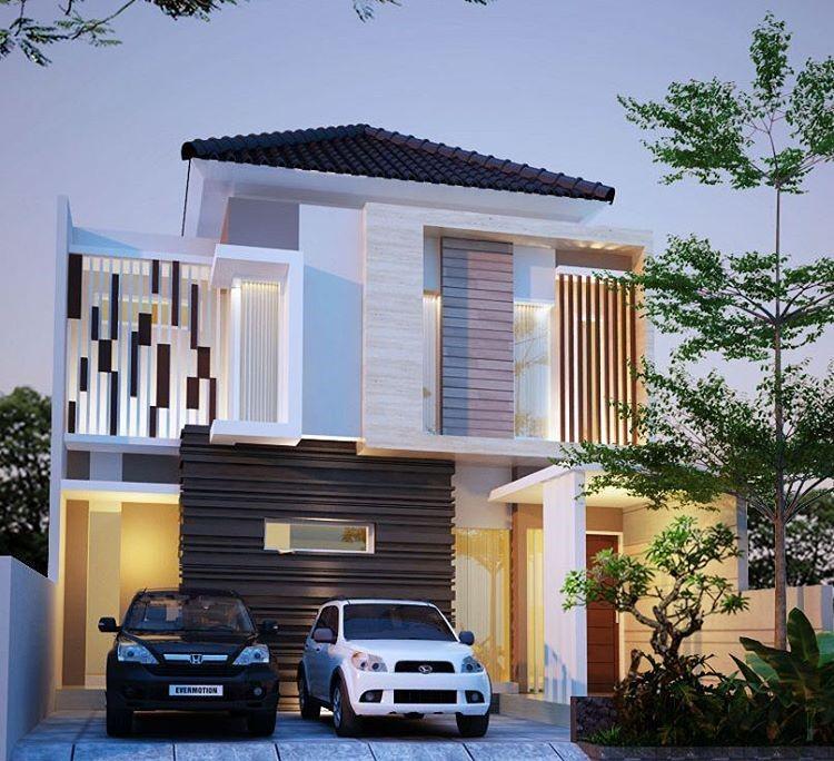 Desain Rumah Mewah Modern Ber A Minimalis Terbaru  Dekor Rumah