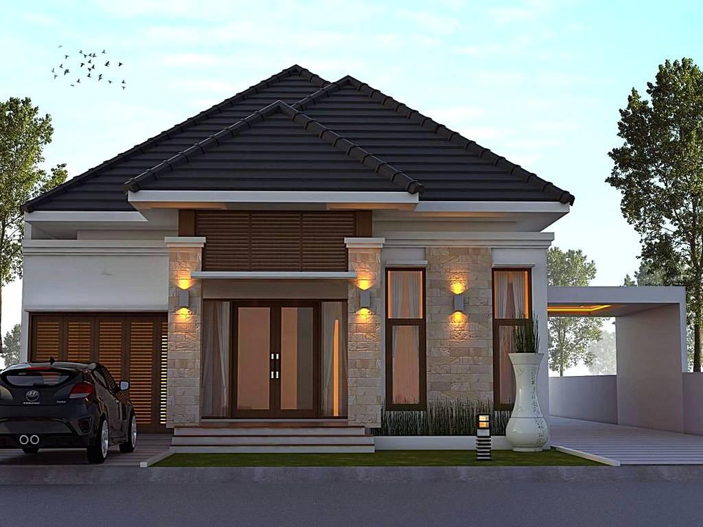 model rumah minimalis terbaru gambar desain rumah modern