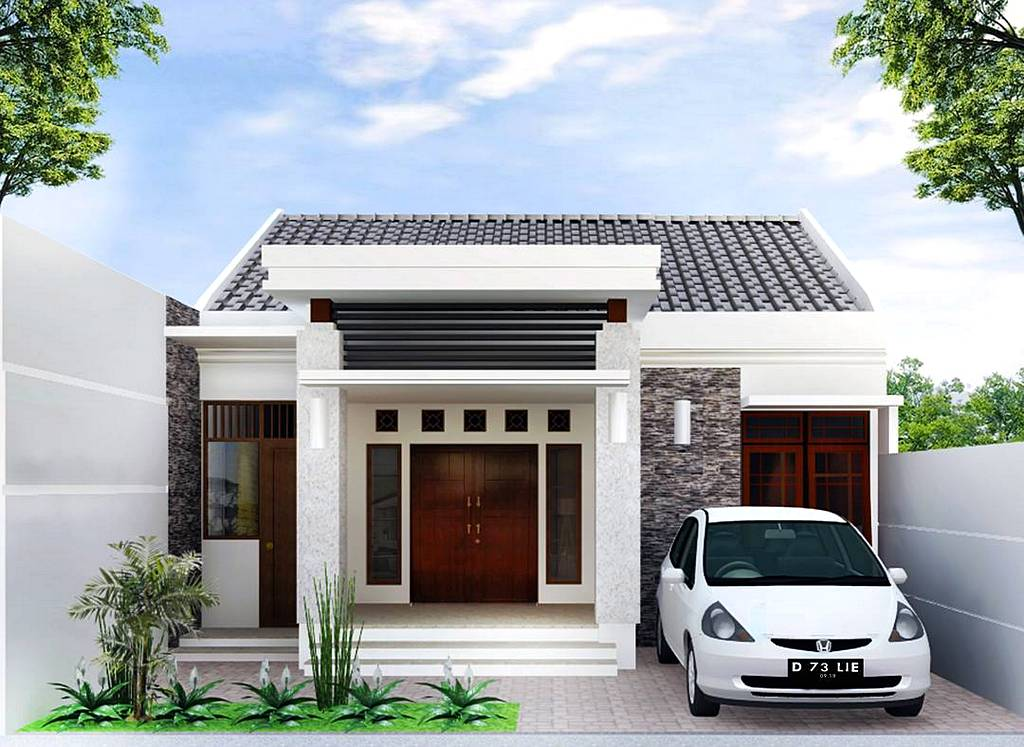 30 model rumah minimalis sederhana 2018 dekor rumah for Minimalist house type 36