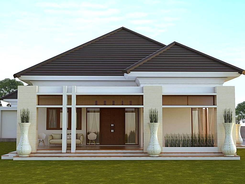 Gambar Design Rumah Minimalis Warna Ungu Feed News Indonesia