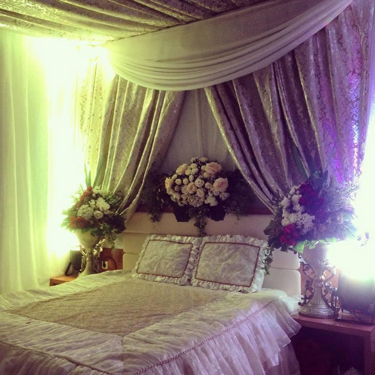 37 dekorasi kamar pengantin sederhana yang romantis 2017