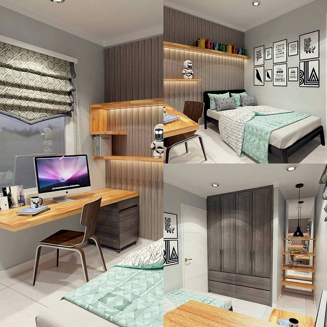 kamar tidur anak laki laki atau kamar anak cowok