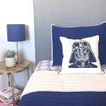 Kamar Tidur Anak Laki Laki Dengan Warna Biru Dongker Keren Lagi Ngetren