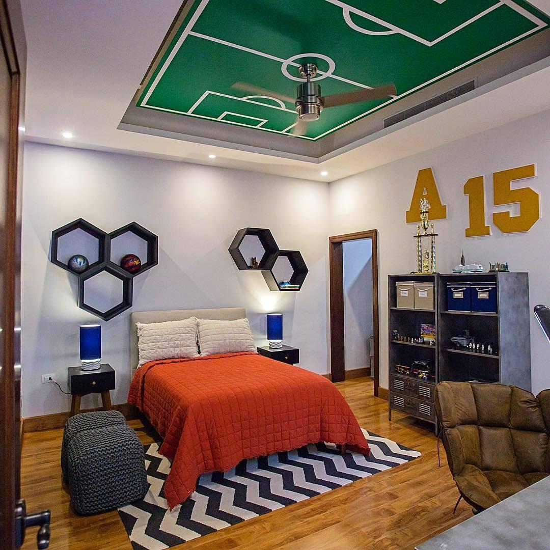 desain kamar tidur cowok unik | sobat interior rumah