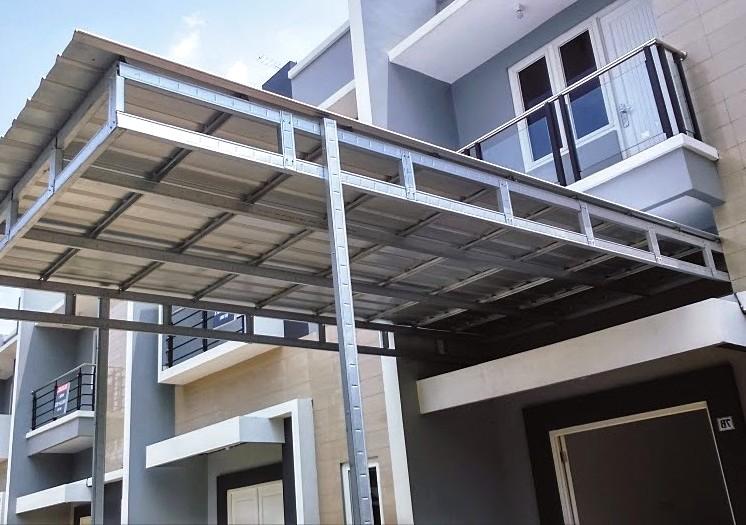 23 Model Kanopi Terbaru Baja Ringan Rumah Minimalis 2019 Dekor Rumah