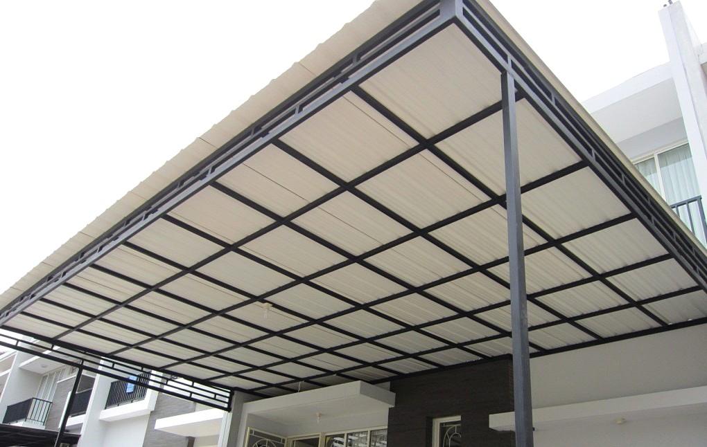 Kanopi Rumah Minimalis Kanopi Baja Ringan Atap Upvc Avantguard