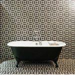 Keramik Dinding Kamar Mandi Dengan Motif Keramik Kamar Mandi Terbaru